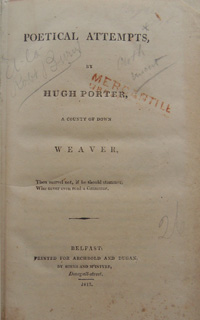 Poetical Attempts by Hugh Porter